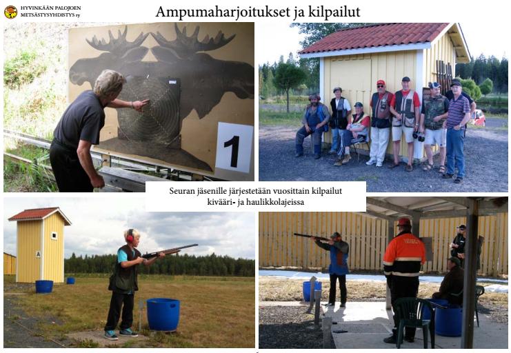 Ampumaharjoitukset ja kilpailut
